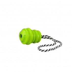 GORRRRILLA TUG-O-WAR Gummispielzeug am Seil in Grün