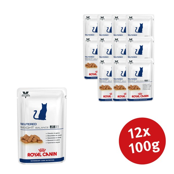 Royal Canin Vet Care Nassfutter Neutered Weight Balance