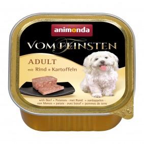 Animonda Hundefutter Vom Feinsten Adult Rind und Kartoffeln