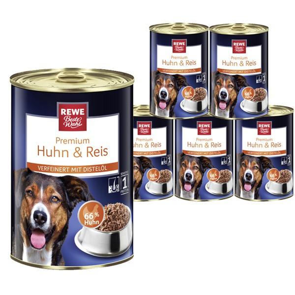 REWE Beste Wahl Hundefutter mit Huhn und Reis