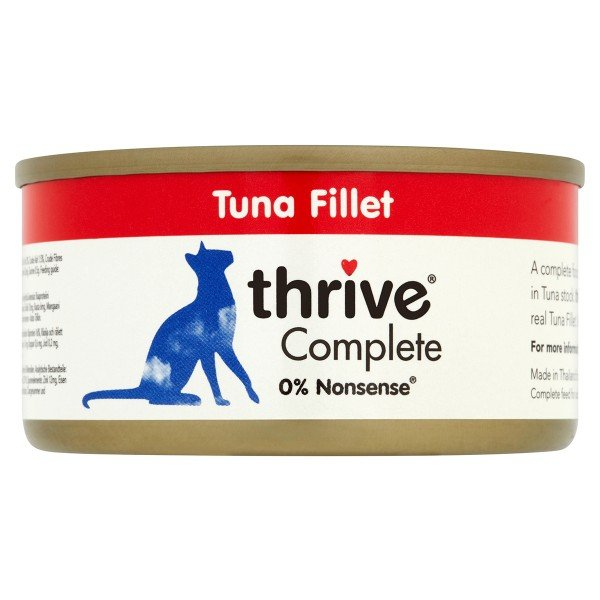thrive Cat Complete Thunfischfilet 12x75g