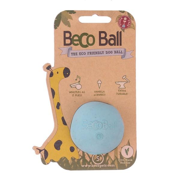Beco Pets Hundeball Beco Ball Blau - S