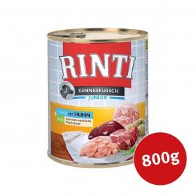 Rinti Hunde-Nassfutter Kennerfleisch Junior mit Huhn