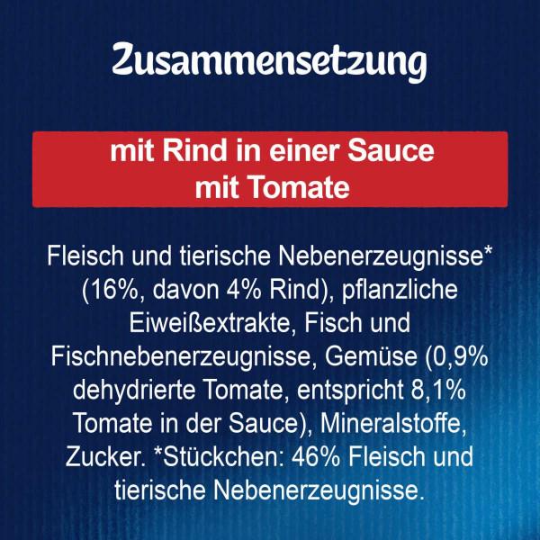FELIX Sensations Saucen mit Rind & Tomate