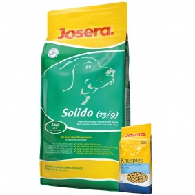 Josera Solido 15 kg + Josera Knuspies 1,5kg GRATIS