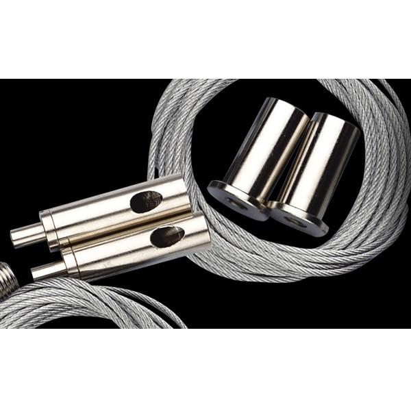 GIESEMANN Stahlseilaufhängung für PULZAR und RAZOR