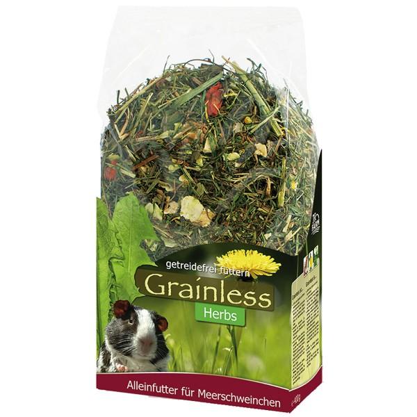 JR Farm Grainless Herbs Meerschweinchen 400g