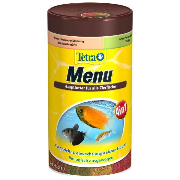 Tetra TetraMIn Futtermix Menü