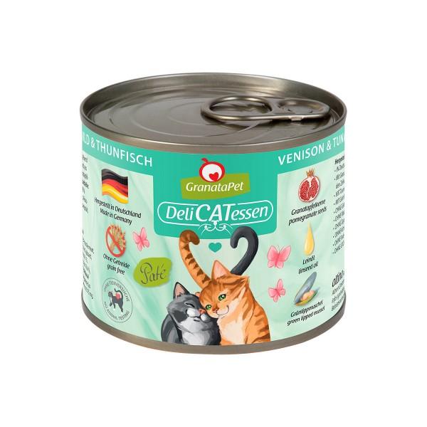GranataPet Katze - Delicatessen Dose Wild & Thunfisch