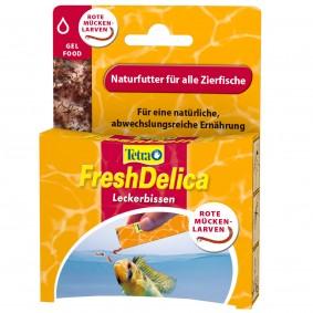 Tetra Gelfutter FreshDelica Rote Mückenlarven 48 g
