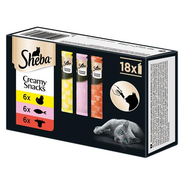 Sheba Creamy Mixpack 18x12g