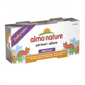 Almo Nature Daily Menu 2x170g Cluster