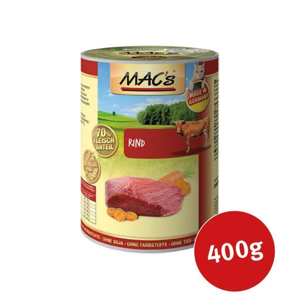 MAC's Cat Katzen Nassfutter Fleischmenü mit Rind