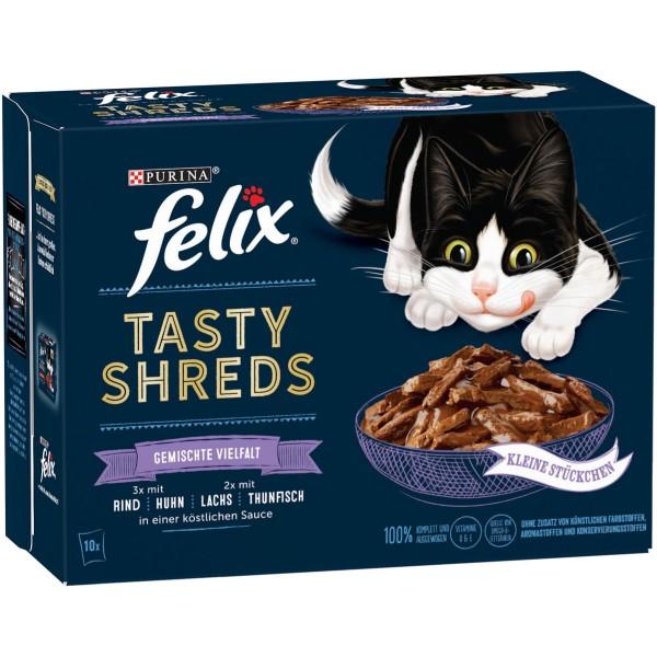 FELIX Tasty Shreds Gemischte Vielfalt