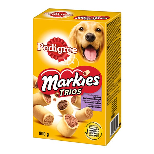 Pedigree Markies Trios 900g