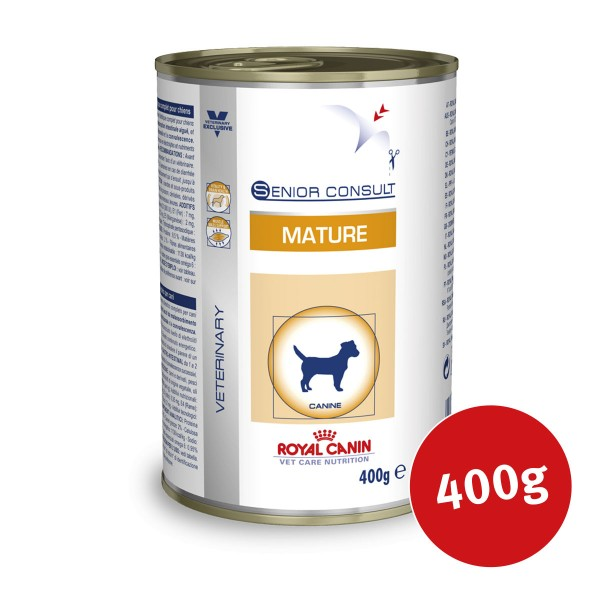 Royal Canin Vet Care Nassfutter Senior Consult Mature - 400g