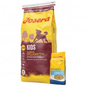 Josera Kids 15kg + Josera Knuspies 1,5kg GRATIS