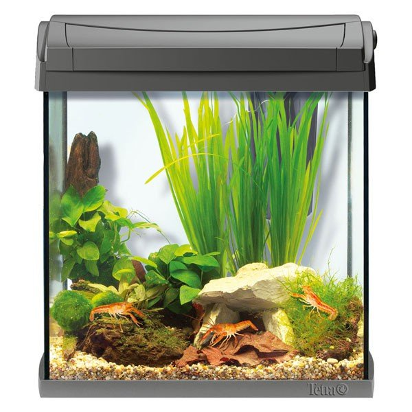Tetra AquaArt LED Aquarium Komplettset Anthrazi...