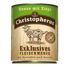 Allco Christopherus Exklusives Fleischmenü Ziege - 6x800g