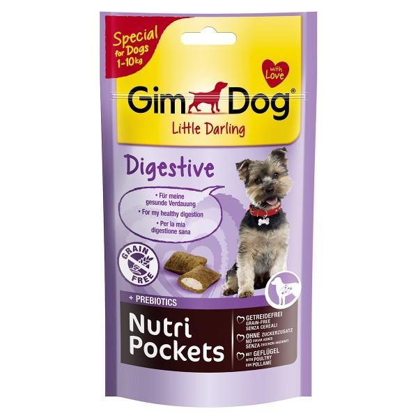 GimDog Hundesnack Nutri Pockets Digestive 50g