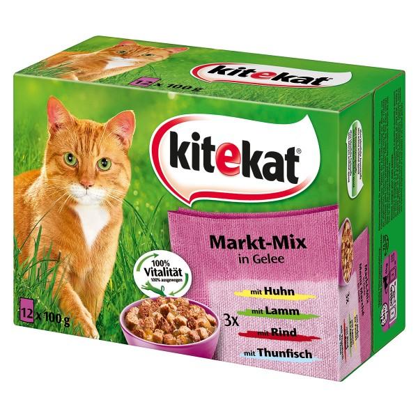 Kitekat Multipack Portionsbeutel -Markt-Mix-