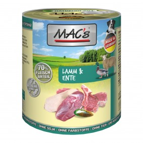 MAC's Dog Lamm und Ente