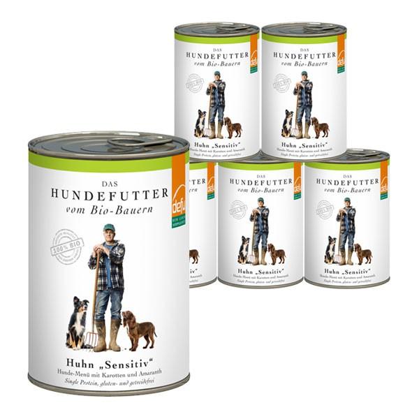 Defu Hundefutter Bio Huhn Gluten- & Getreidefrei