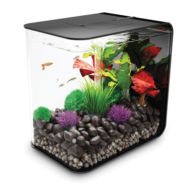 biOrb Flow LED Aquarium schwarz - 15 Liter