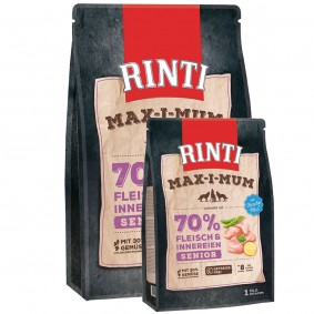 Rinti Max-i-mum Senior Geflügel 4 kg + 1kg Gratis