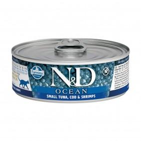 N&D Cat Ocean Thunfisch & Kabeljau & Garnelen