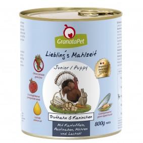 GranataPet Liebling's Mahlzeit Junior Truthahn und Kaninchen