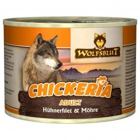 Wolfsblut Chickeria Adult Huhnfilet und Möhre