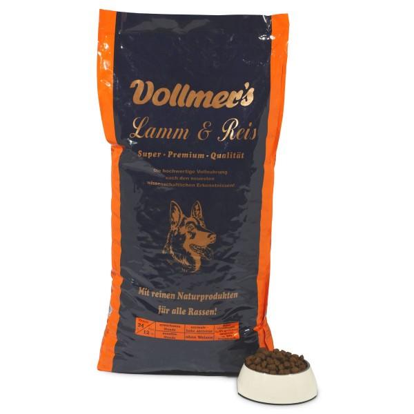 Vollmer's Lamm & Reis Trockenfutter 15 kg