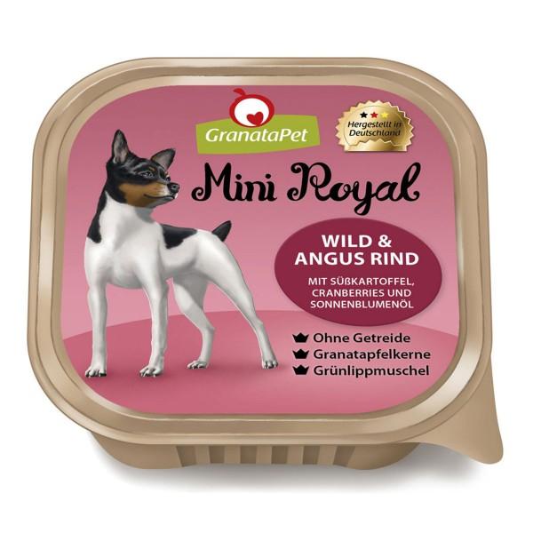 GranataPet Mini Royal Wild & Angus Rind
