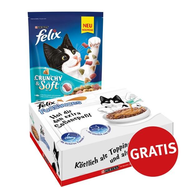 Felix Crunchy & Soft mit Thunfisch, Seelachs un...