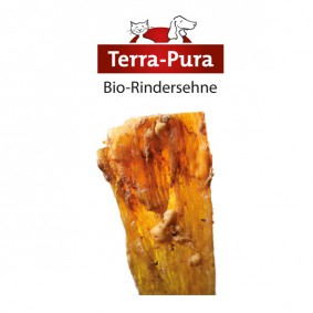 Terra Pura Hundesnack Bio Rindersehnen 500g