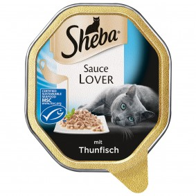 Sheba Sauce Lover mit Thunfisch (MSC)