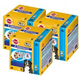 Pedigree DentaStix Multipack für große Hunde 150 Stück + 18 GRATIS