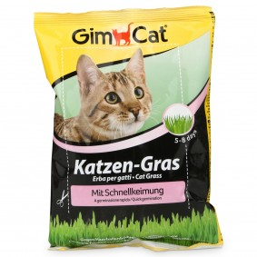 Gimpet Herbe à chat en sachet à germination rapide