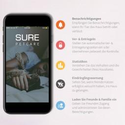 SureFlap Mikrochip Haustierklappe Connect