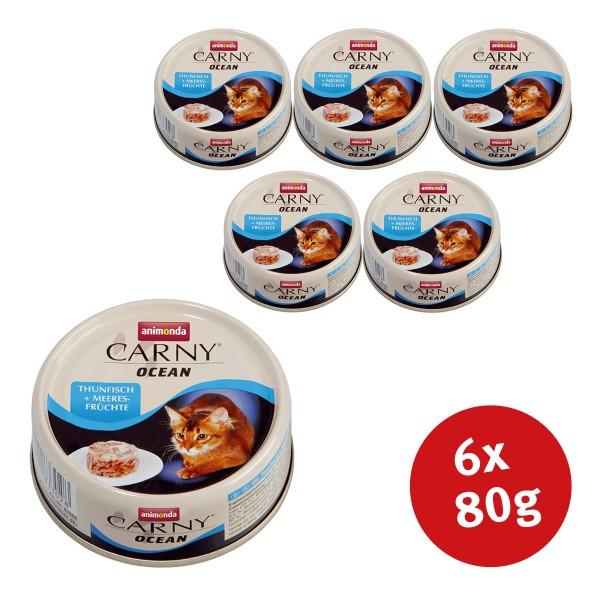 Animonda Katzenfutter Carny Ocean Thunfisch & Meeresfrüchte