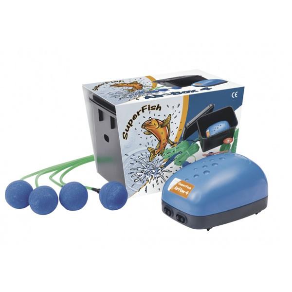 SuperFish Teichbelüftungs-Set Air-Box 4