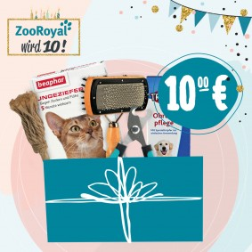 Jubiläums Sparpaket Katzenpflege