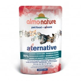 Almo Nature Alternative wet Cat 55 Indonesische Makrele
