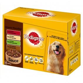 Pedigree Hundefutter Vital Protection in Sauce 12er Pack