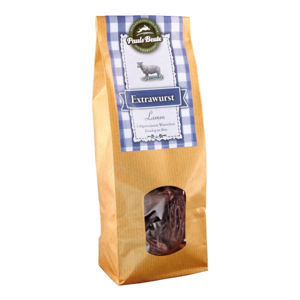 Pauls Beute Hundesnack Extrawurst Lamm 200g