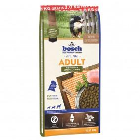 Bosch Adult Geflügel & Hirse 15+2kg gratis