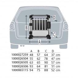 Trixie Transportbox Aluminium Alubox