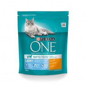 Purina ONE Bifensis Katzenfutter Light Huhn 800g