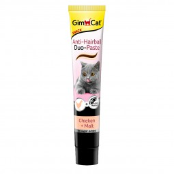 GimCat Anti-Hairball Duo Paste Hühnchen + Malz 50g